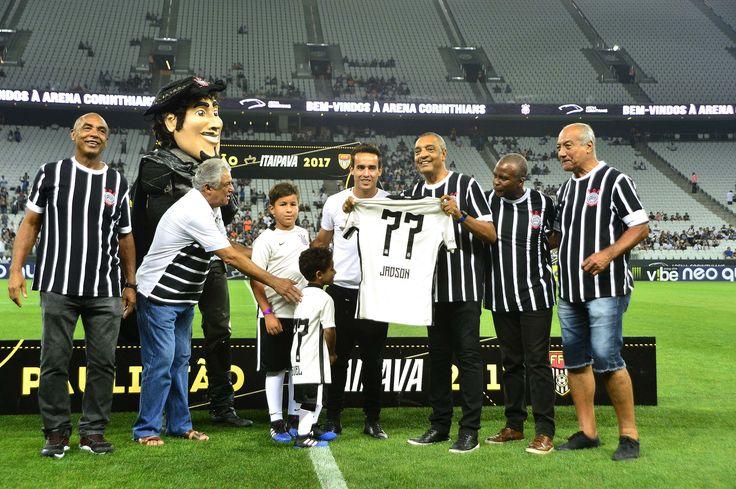 Apresentado à Fiel em Itaquera, Jadson terá camisa 77 no Corinthians #globoesporte