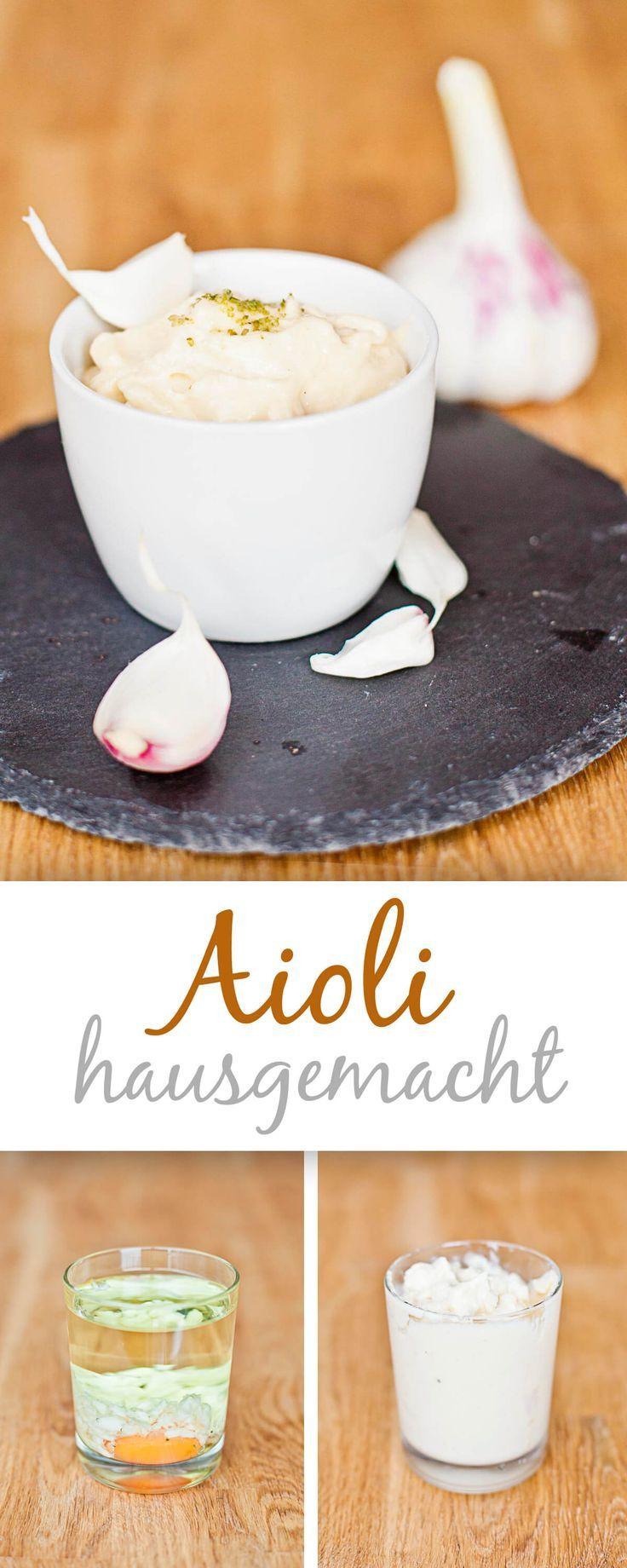 Homemade Aioli {Grundrezept