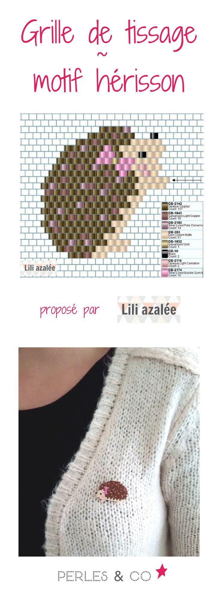 Aurélie du blog LiliAzalée nous propose deux tissages en perles Miyuki : deux petits hérissons, Eglantine la grande soeur et Sidonie la petite soeur. Deux motifs parfaits pour customiser vos pulls préférés ! Retrouvez le tutoriel sur Perles & Co
