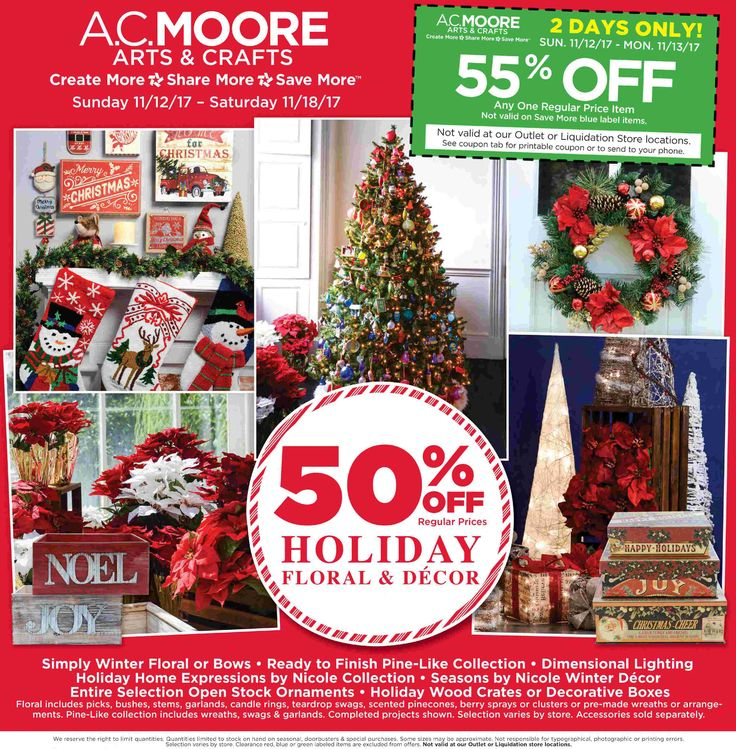 AC Moore Weekly Ad November 12 - 18, 2017 - http://www.olcatalog.com/home-garden/ac-moore-weekly-ad.html