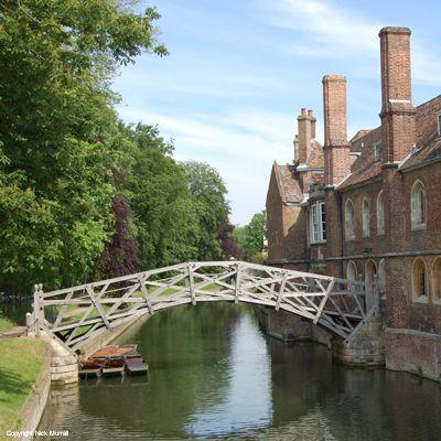 Inspiration: Mathematical Bridge, Queens' College, Cambridge