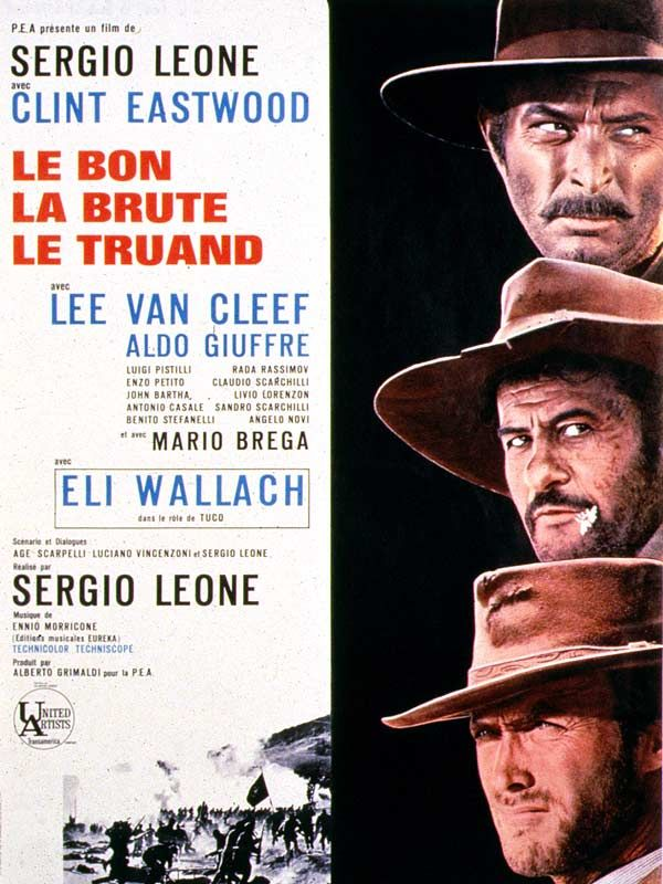 The Good, The Bad, The Ugly - Sergio Leone - 1966