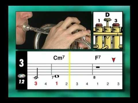 Tutorial como tocar trompeta y a leer partituras al mismo sigue el tiempo en la linea amarilla.