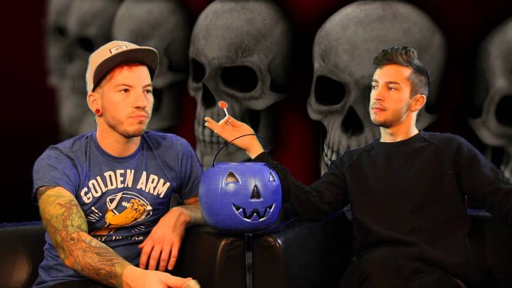 102.9 The Buzz: 21 Favorite Things About Halloween With twenty one pilot... tyler joseph josh dun skeleton clique