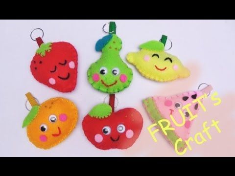 Craft For Kids Craft Fruits Dolls Craft Easy Craft Handmade Nursery Rhym...