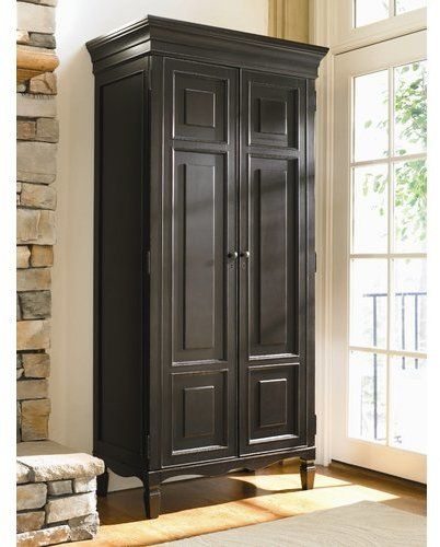 Canora Grey Causey Park 2 Door Tall Armoire