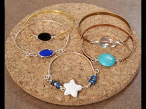 Katie Hacker makes Beaded Bangle Bracelets on Beads, Baubles & Jewels (2...