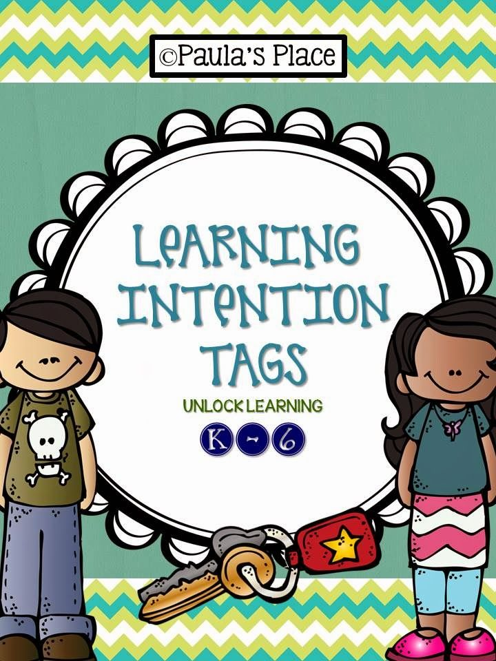 Learning Intention Freebie - Paulas Place