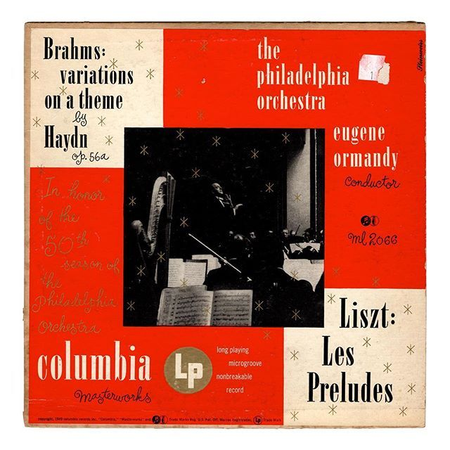 Im Continuing To Add New Alex Steinweiss 10 Inch Lps To The Shop Today More Coming Up This Afternoon Too Brahms Varia Columbia Records Haydn Record Sleeves