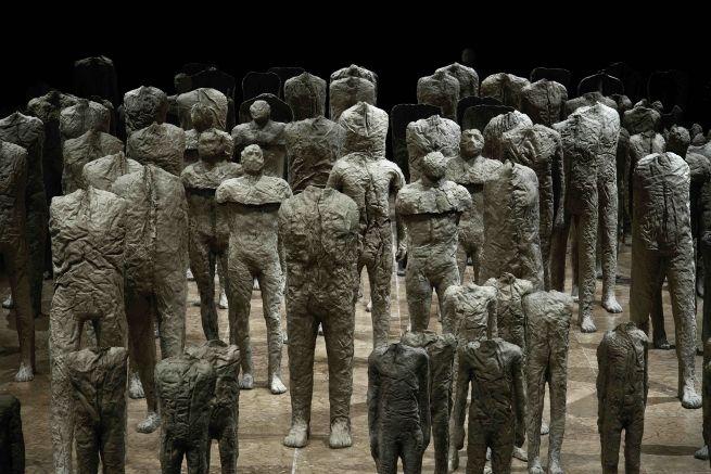 Magdalena Abakanowicz - wystawy podczas Gallery Weekend Berlin 2015 i Biennale w Wenecji 2015 r. Konkurs dla artystów plastyków - MUZA 2015 - Magdalena Abakanowicz. http://artimperium.pl/wiadomosci/pokaz/565,magdalena-abakanowicz-berlin-wenecja-i-konkurs-muza#.VUS4d_ntmko