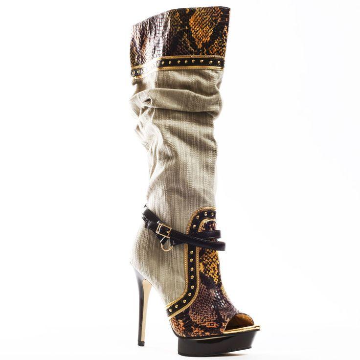 DEREON SHOES PICS  | Heels.com / All Shoes / Dereon / Coast Boot - Natural