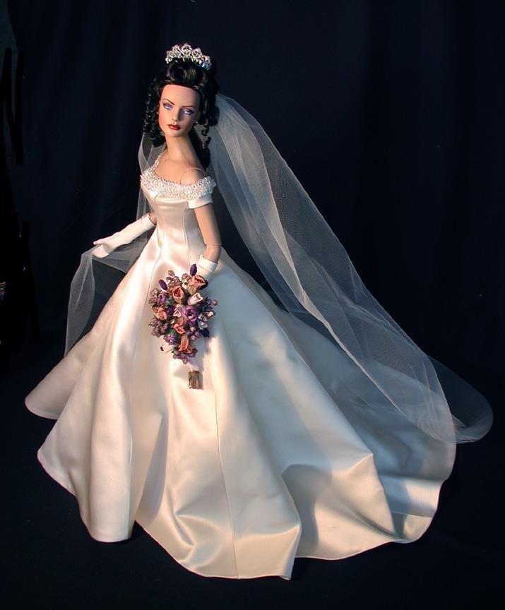 платье для куклы невесты фото содержание домашних