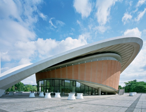 It's even more extraterrestial from the other side! House of International Culture, Berlin, Germany.