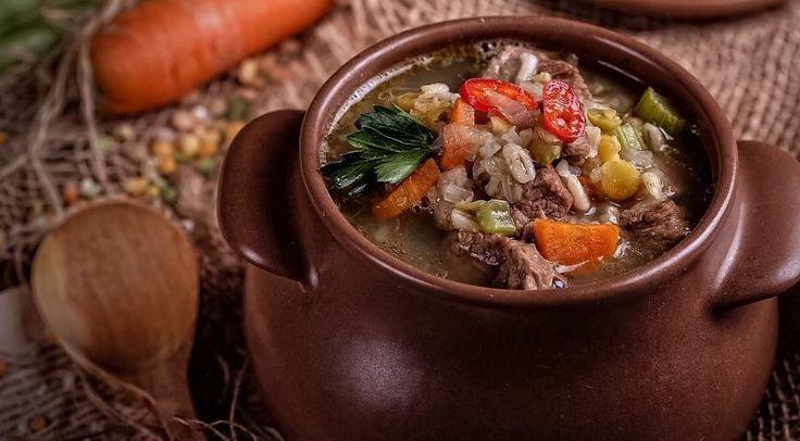 Густой шотландский суп
