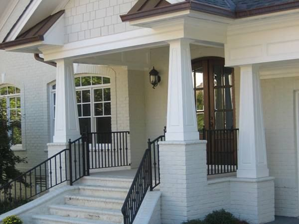 20 best architectural columns images on pinterest for Craftsman tapered columns