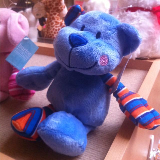 Burton and burton stuffed animals