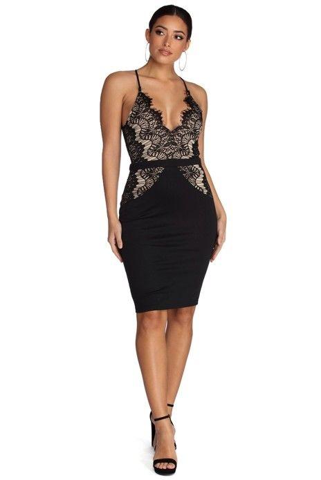 Flirty Looks Lace Dress in 2018  65f872bce