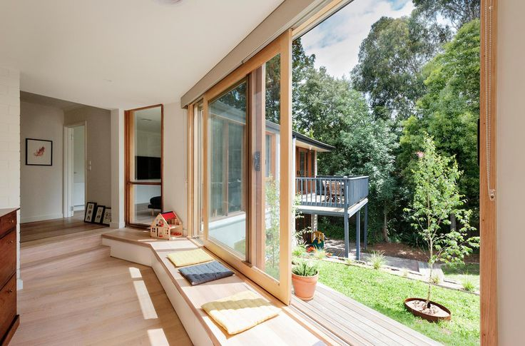 Doncaster House: a renovation of a 1970s brick and weatherboard dwelling on a large triangular site - CAANdesign http://www.caandesign.com/doncaster-house-renovation-1970s-brick-weatherboard-dwelling-large-triangular-site/?utm_content=buffer1d38f&utm_medium=social&utm_source=plus.google.com&utm_campaign=buffer