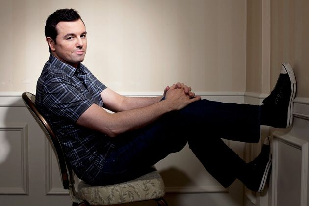 Seth MacFarlane ... love his style! he always looks so comfy yet put together!