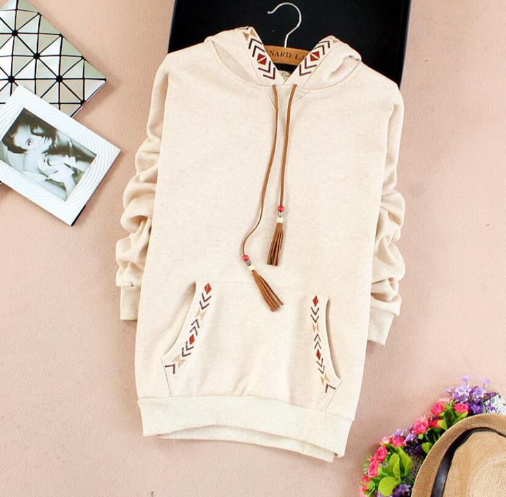 Find More Hoodies & Sweatshirts Information about JOYINPARTY 2 colors   Arrow embroidery tassel hooded thickening sweatshirt mori girl vintage pullover,High Quality tassel sweatshirt,China embroidery sweatshirt Suppliers, Cheap sweatshirt vintage from JOYINPARTYCHIC Store on Aliexpress.com