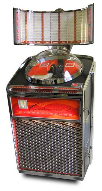AMi Continental 2 jukebox from 1962