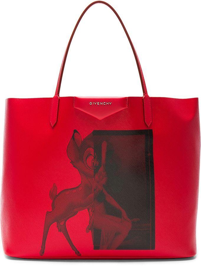 831bd6a6e78e Givenchy Large Bambi Antigona Shopping Bag