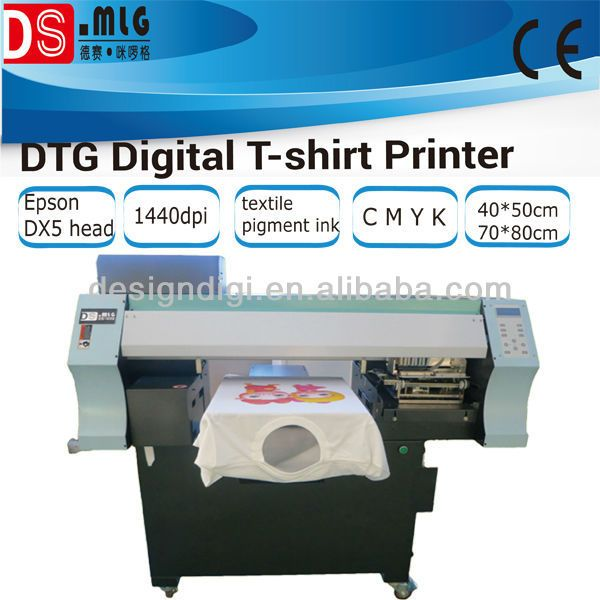 HOT! digital t shirt printer for promotion gift printing,cheap direct to garment printer $1000~$8000