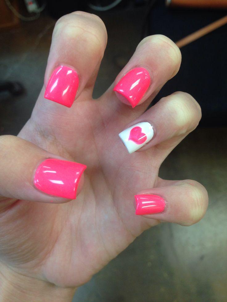 summer acrylic nails ☀️