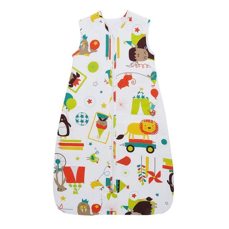 The Gro Company 1.0 TOG Travel Grobag Baby Sleep Bag - Newborn, Infant Unisex, Size: 0-6 Months, White