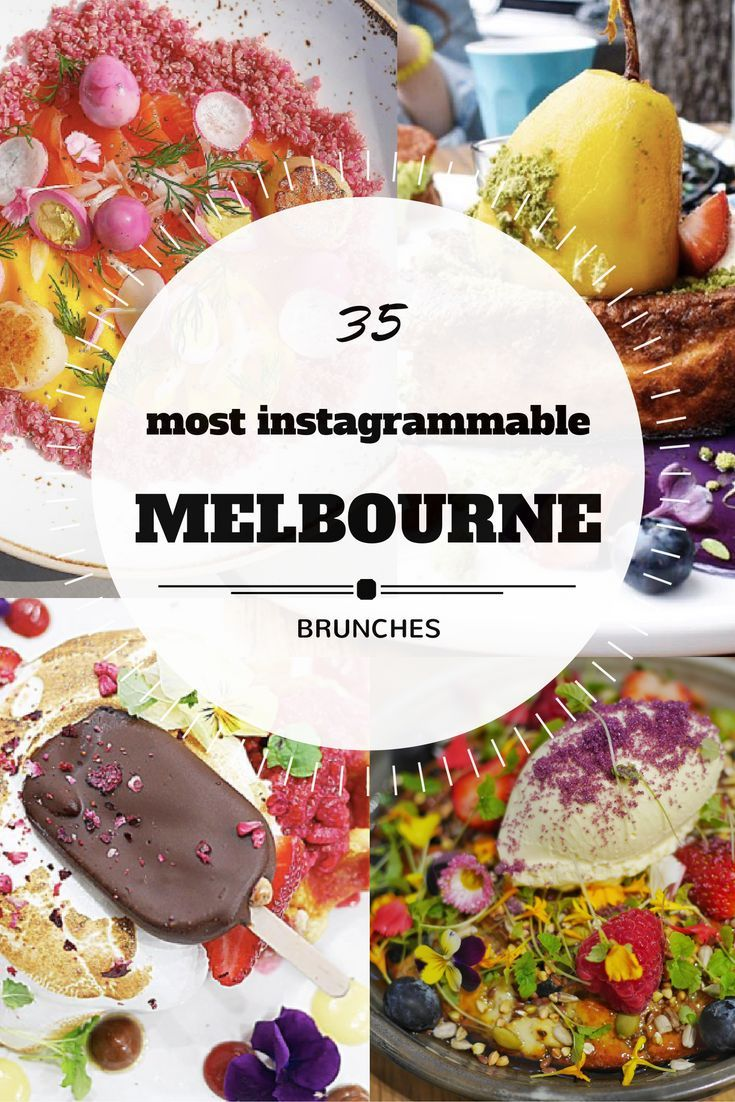 Find the top spots for brunch in Melbourne.