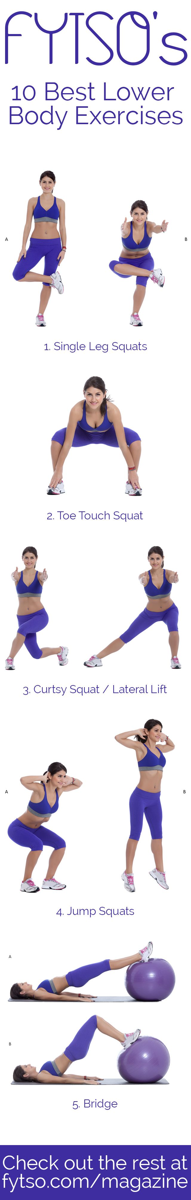 If you're ready to feel the burn, try these 10 best lower body exercises