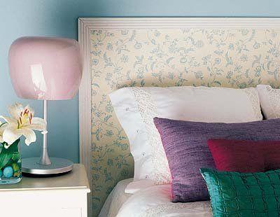 Las 25 mejores ideas sobre molduras decorativas en - Papel pintado cabecero cama ...