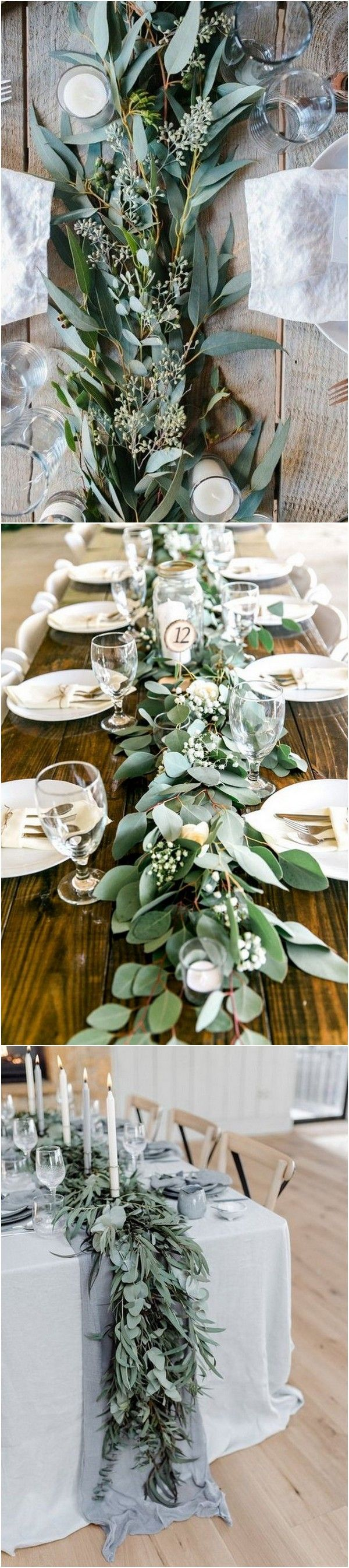 27 Amazing Table Runner Ideas for Your Wedding Reception – Page 2 of 2