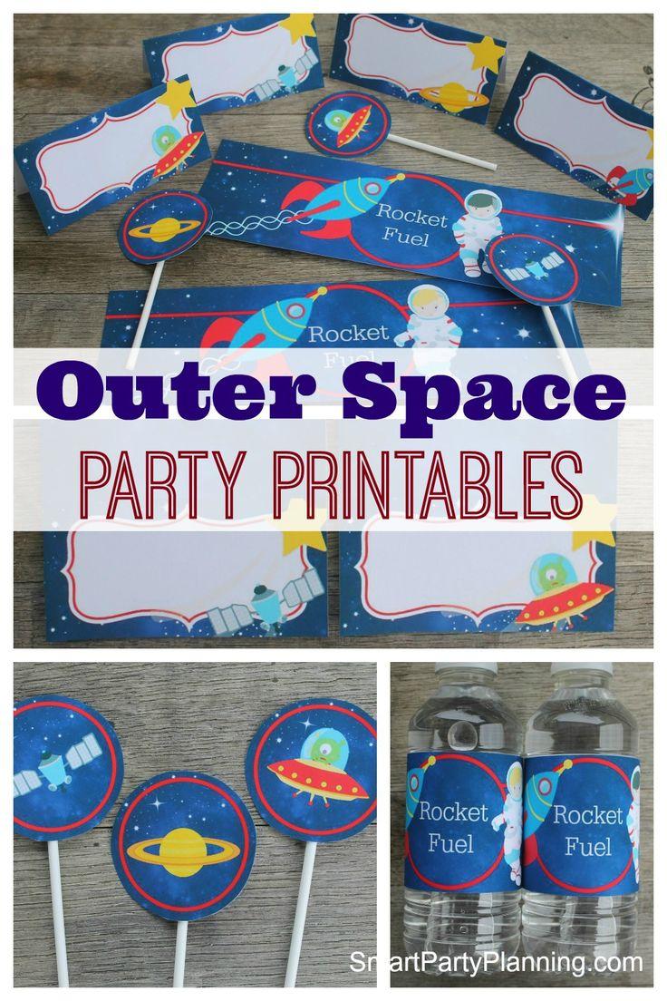 Best  Outer Space Decorations Ideas On Pinterest - Astronaut decorations
