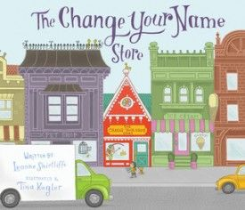 BRAIN BURPS ABOUT BOOKS Podcast #182 with a review of The Change Your Name Store