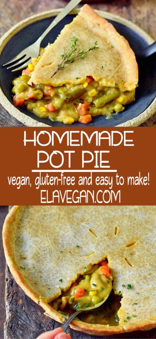 Vegan Pot Pie In 2020 Vegetarian Pot Pie Vegan Pot Pie Recipe Vegan Pot Pies