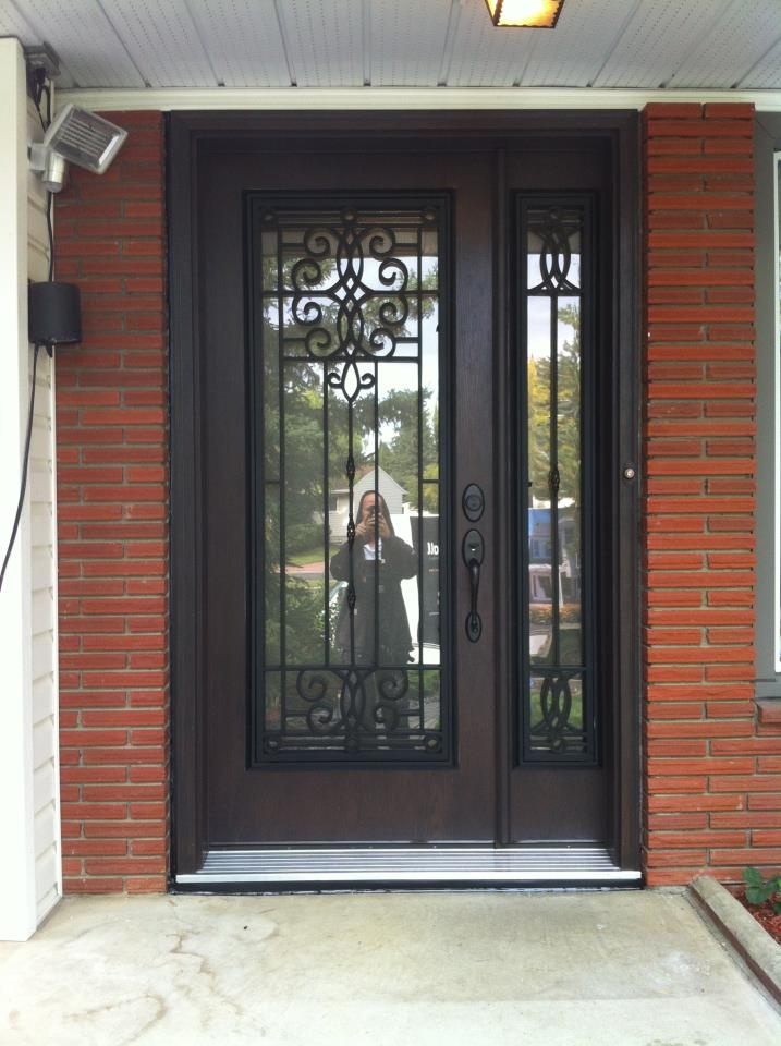 Completed Entry Door. www.capitall.ca