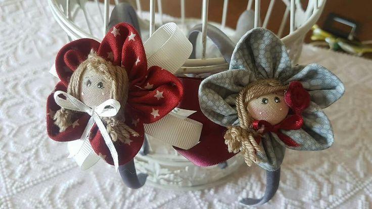 Cerchietti con bamboline
