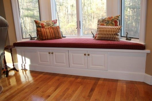 17 Best Images About Window Bench Seat On Pinterest
