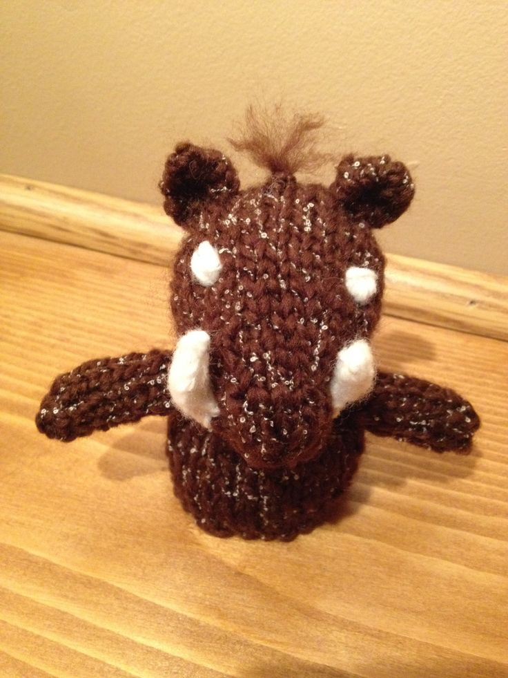 Just another knitted animal. This time it's a... | Emz Geekery