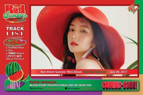 Red Velvet Siap Comeback dengan Album Spesial Musim Panas The Red Summer