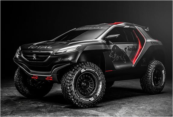 Peugeot 2008 DKR Ready for 2015 Rally Dakar