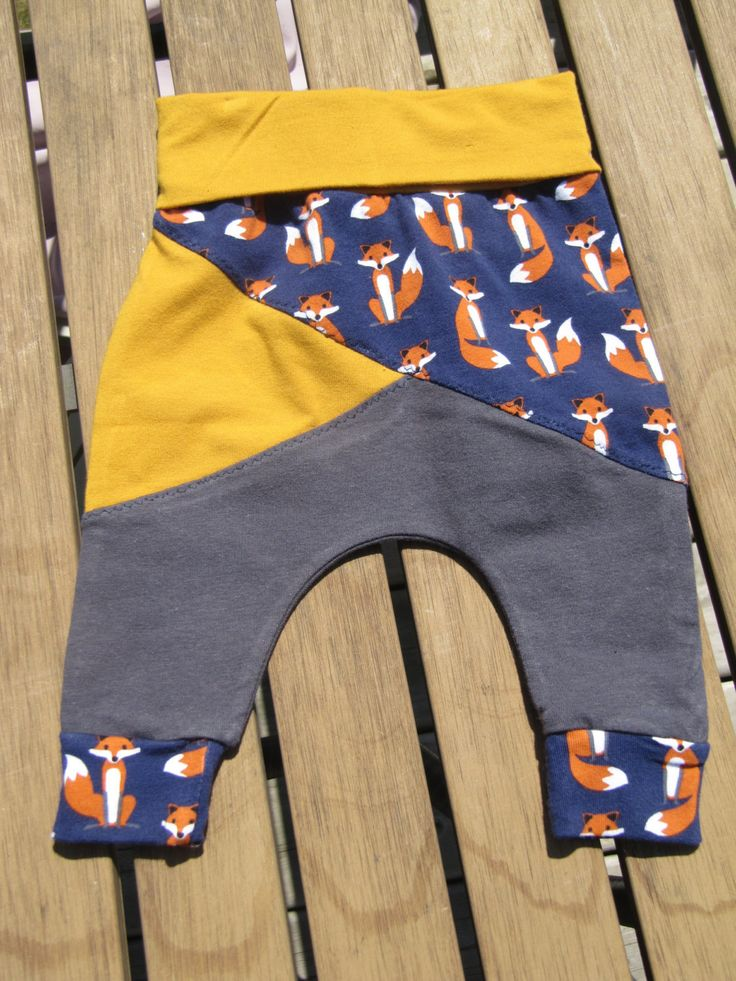 Fox Harem Joggers-0-3m by MommyandmeboutiqueCA on Etsy