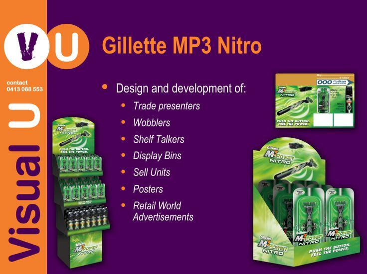 Visual U Gillette MP3 Nitro