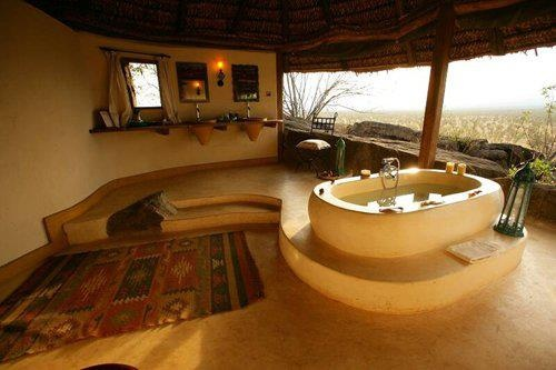 bathroom in So. Africa