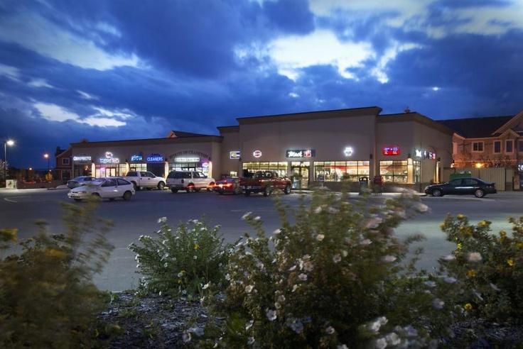 Commercial area at North end of Cranston Calgary livecranston.ca