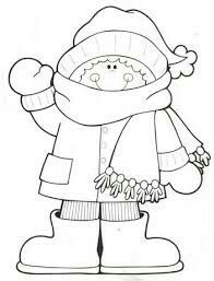 A Snowball Fight With Friends During Winter Coloring Page Auto