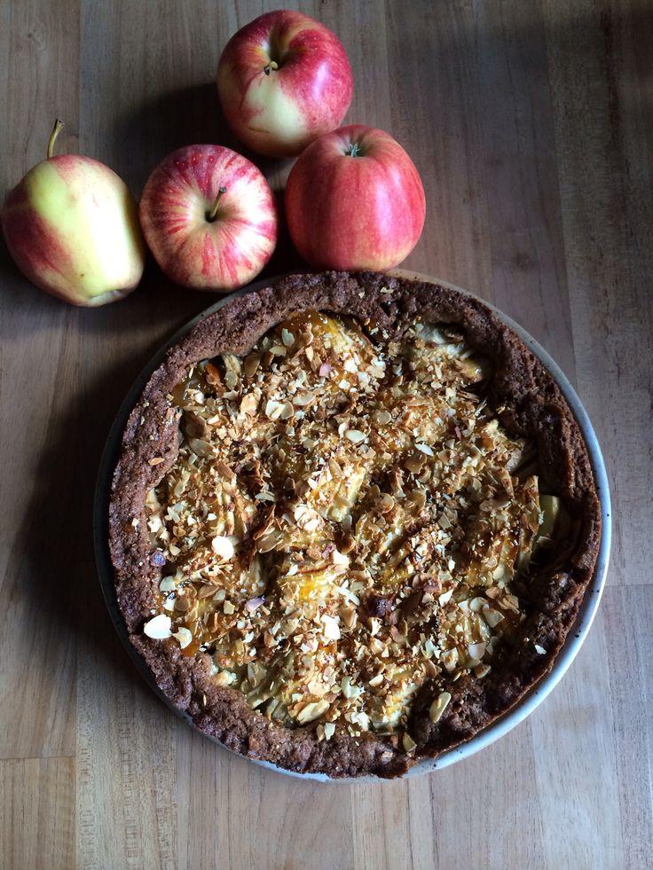 Speculaas appel taart