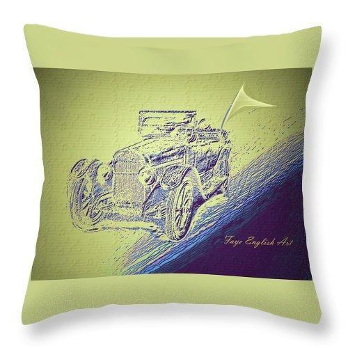 Joy Ride - Throw Pillow