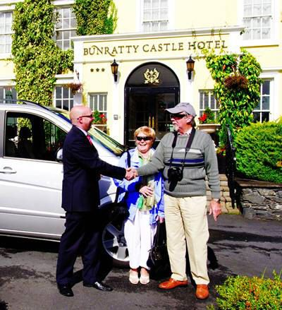 Chauffeur-driven vacations to Ireland -Select a chauffeur-drive customized program to fit your requirements exactly, whether for a party of two or a small group. This is a great way for family or friends to explore Ireland and celebrate a special occasion. Choose from a wide range of hotels featured in the A La Carte Hotels section and travel on any dates you wish. Your driver will look after you every step of the way with CIE Tours.